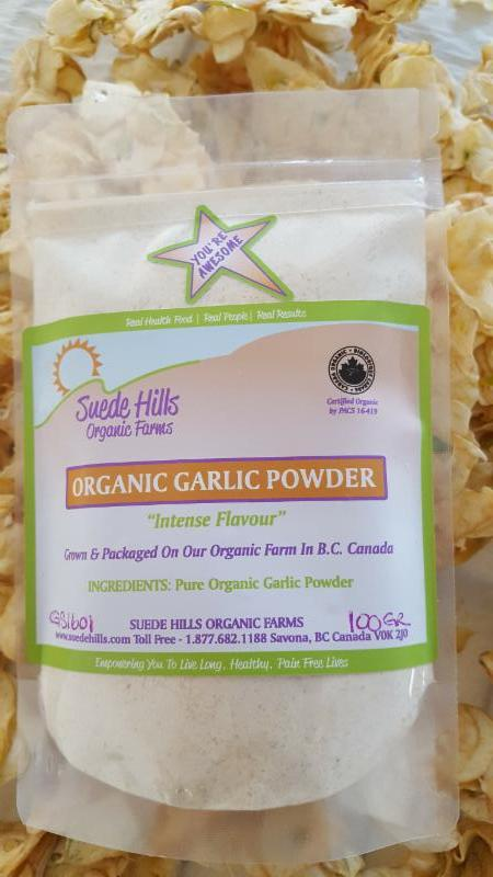 Russian Red Garlic Powder