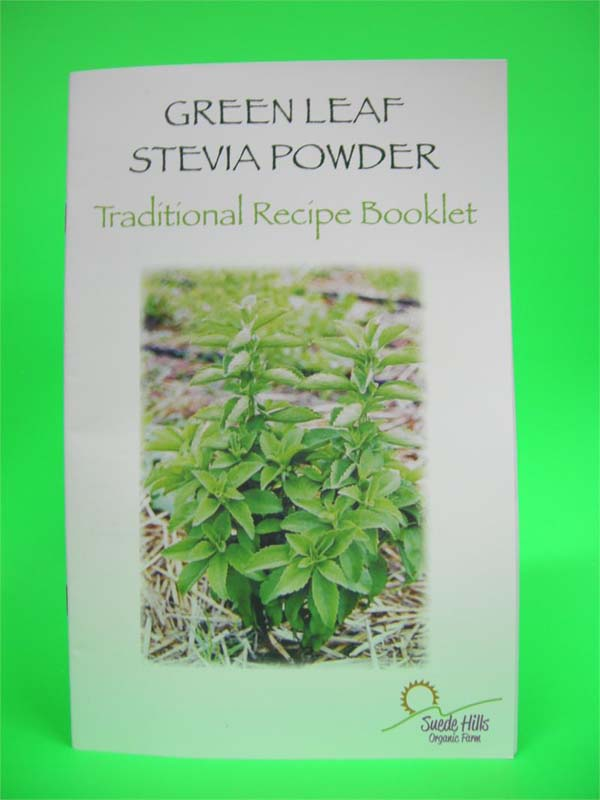 green leaf stevia powder recipe book