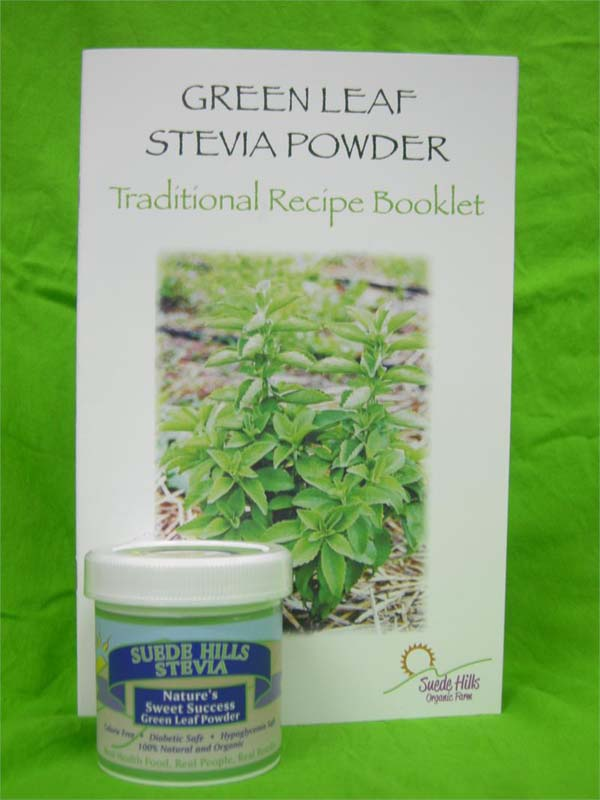 green leaf stevia powder recipe package