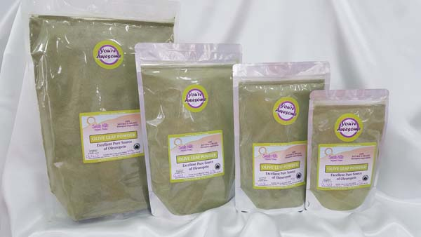 Organic Olive Leaf Powder Family